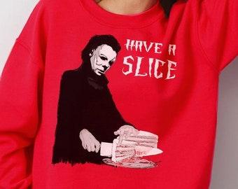 Michael Myers Ugly Xmas Sweatshirt A Christmas Etsy