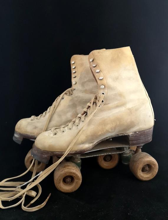 Vintage 1940s CC41 dance skates, Hamaco