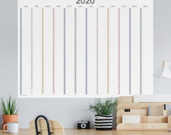 Inner CircleCalendar -Tax Day Window Cling | 30x20 CGSignLab 5-Pack