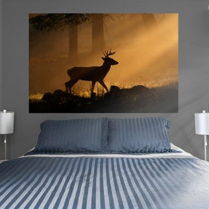 Fathead Eiffel Tower at Dusk Mural Removable Re-positional Wall Graphic Large Wall Decal
