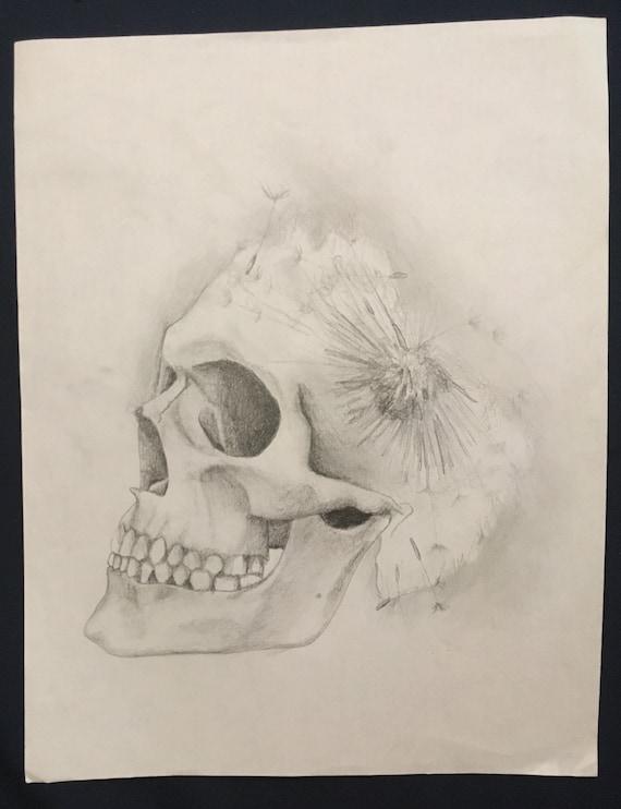 Skull body pillow | Etsy