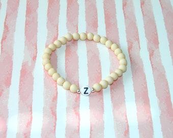 Friendship bracelet partner bracelet initials beaded bracelet customizable