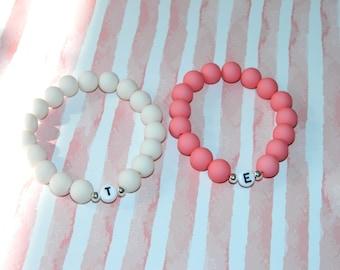 Bracelet Beaded Bracelet Wish Bracelet Letter Customizable SET