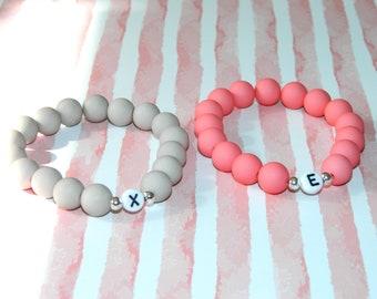 Wish bracelet bracelet beaded bracelet customizable letter bead