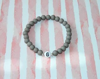 Friendship Bracelet Partner Bracelet Initials Beaded Bracelet