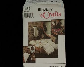 8465 Vintage Simplicity Nähen Muster Handwerk Schöne Kragen Uncut