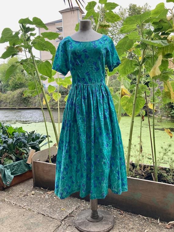 Vintage Anokhi blockprint Indian dress