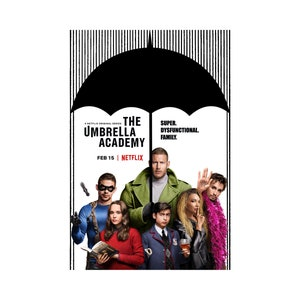 The Umbrella Academy TV Movie Poster Photo  8x10 11x17 16x20 22x28 24x36 27x40