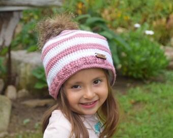 0e8e0a3e34c Striped hat crochet