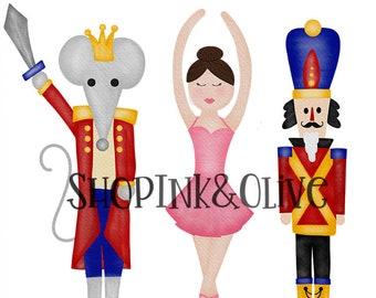 nutcracker clipart etsy rh etsy com nutcracker ballet clipart free