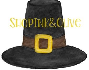 pilgrim hat clipart etsy rh etsy com Pilgrim Shoes Clip Art pilgrim hat clipart black and white