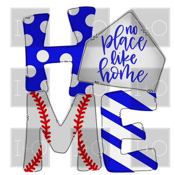 Jermyn Baseball And Softball Home: Softball Baseball Home Plate Watercolor Printable Digital