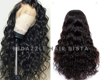 Loose Deep Weave Human Hair Lace Front Wigs With Baby Hair 150% Density High Quality Cheap Real Hair With Pre Plucked Natural Hair