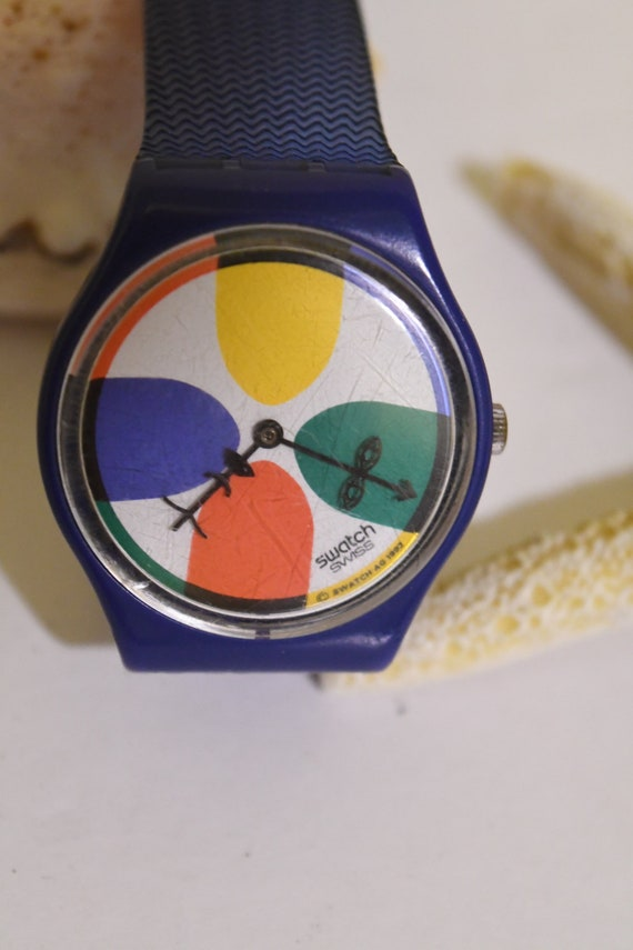 Swatch Watch - Vintage Swiss Made Swatch Watch - B