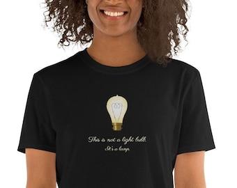 This is not a light bulb - Unisex T-Shirt