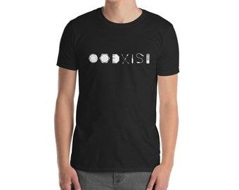 COEXIST Signal (B&W) - Unisex T-Shirt