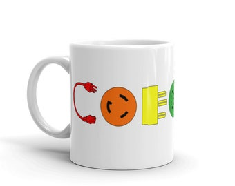 COEXIST Power (Color) - Mug