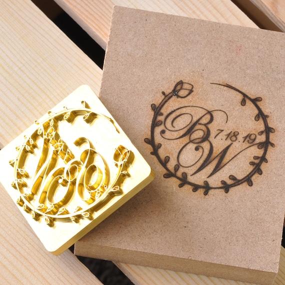 Custom Brand Iron Wood Brand Iron Custom Leather Stamp Etsy