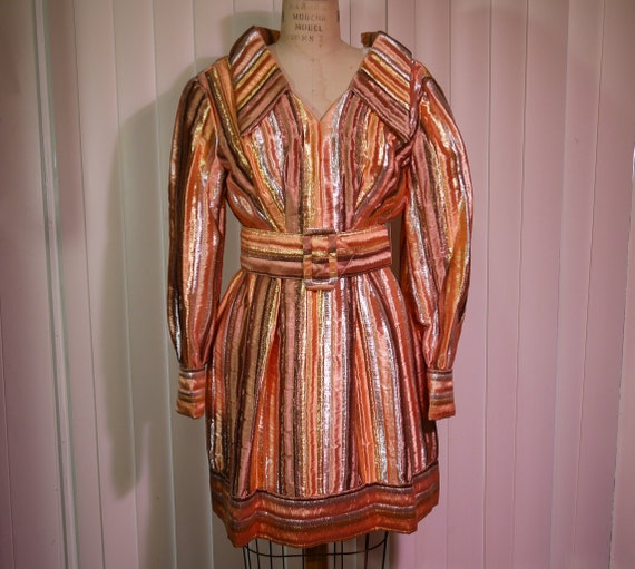 Fabulous 1960s Designer Dress by VICTOR COSTA Roma