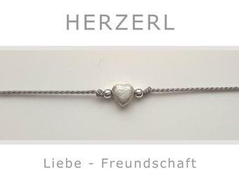 Bracelet - Love - Lucky Charm - Talisman - Yoga - 925 Silver - Love, Connectedness, Friendship, Partnership