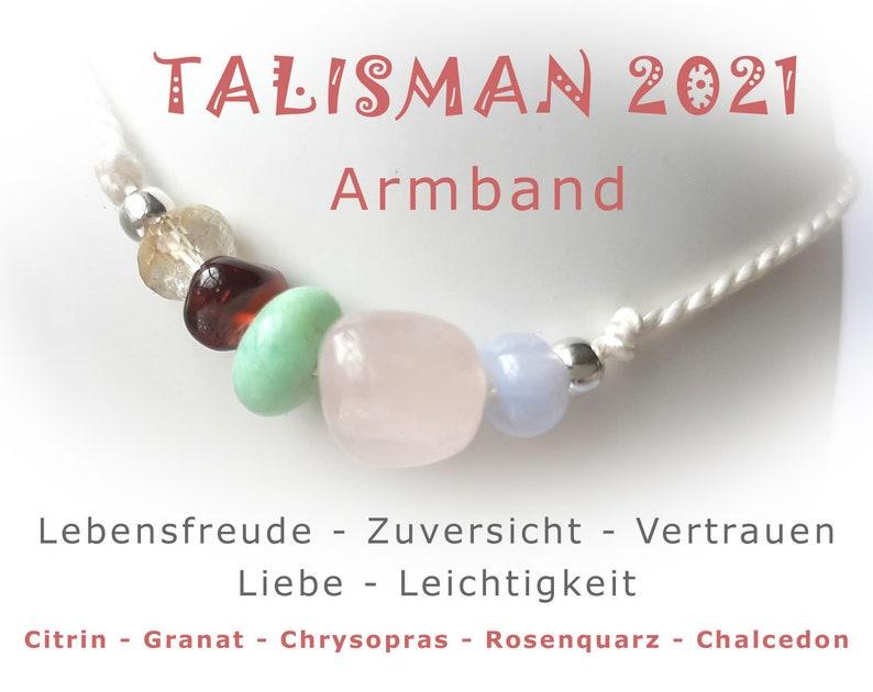 Bracelet  Lucky Charm  Talisman  2021  Gemstones with 925 image 0