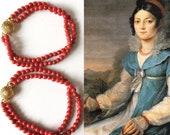 2 CORAL bracelets