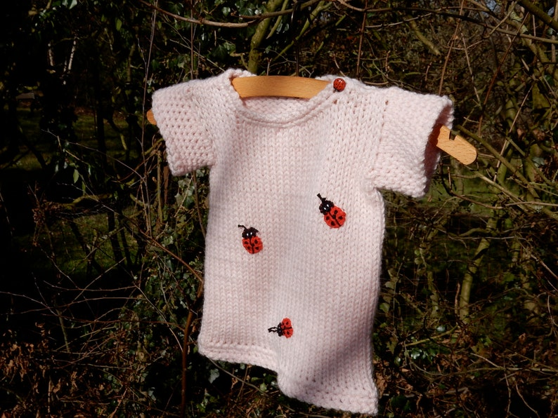 Tunic,baby sweater with short arm