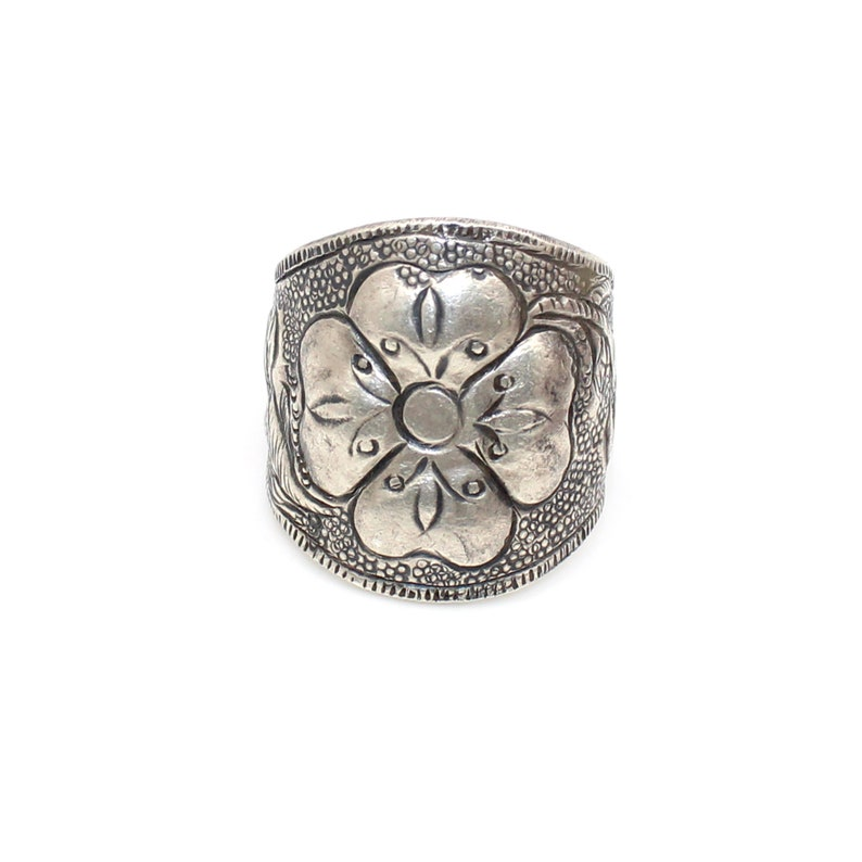 Gypsy Nomad Jewellery 925 Sterling Silver Tribal Jewelry 9.75 Us Size Ring MI-1253