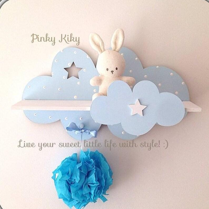 Étagère murale pour un Petit Prince - Créatrice ETSY : PinkyKikyDesign