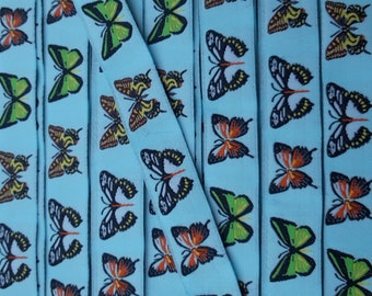 Borte Webband 4137 Schmetterling 15mm Breite Ripsband