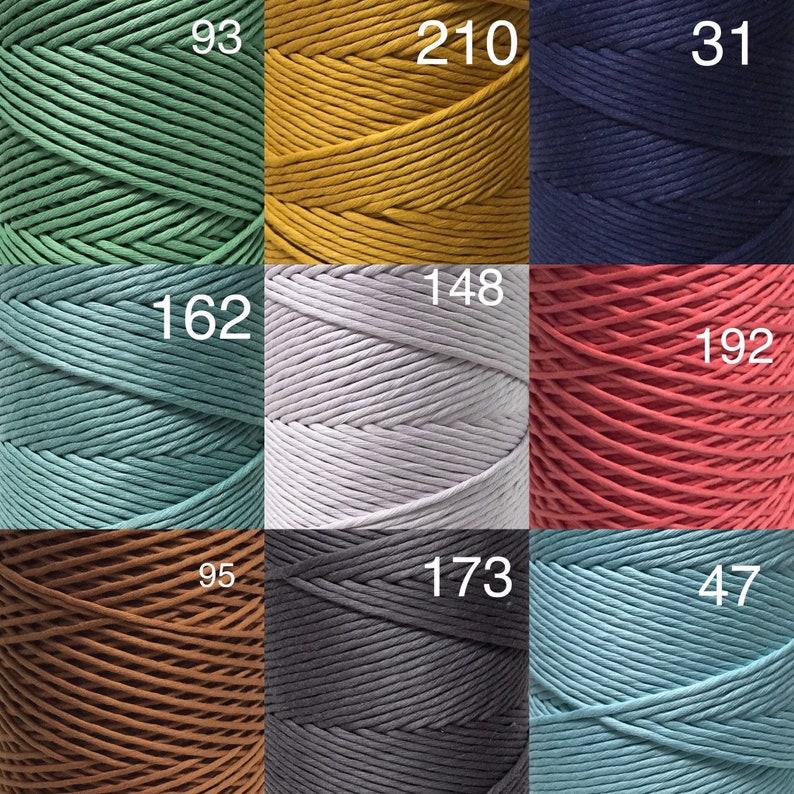 Chunky Rope Macrame Fibre Macrame Supplies Cotton Supplies 3mm Macrame String Minis Macrame Mini Macrame Cake