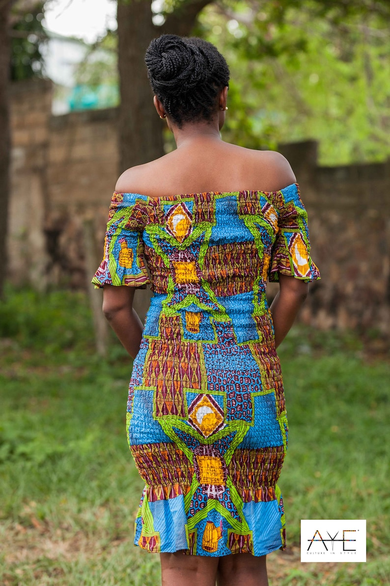 Elastic midi Dress