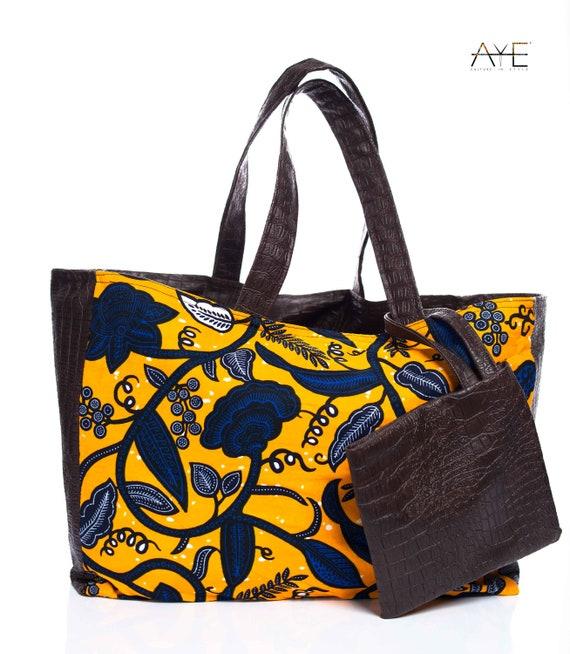 c52574220246 Selalie-Tote Bag Yellow