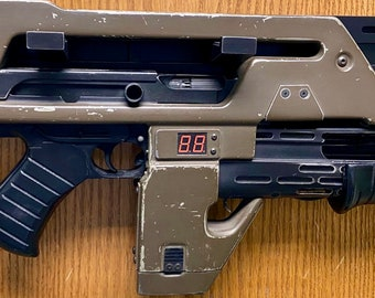Aliens Pulse Rifle Themed Wall Mount custom Hand Made Only Here !