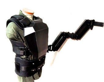 Aliens Smartgun Colonial Marines HERO Steady Cam Vest and Control Arm Cosplay 1/1 Full Sized