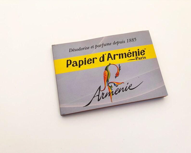 Papier D Armenie X 2 Booklets Armenie Natural Deodorizer Etsy