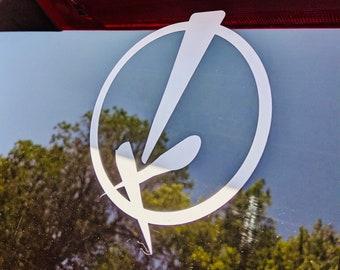 "QL ""X"" Car Decal"