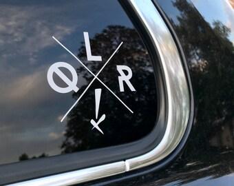 QLRX Car Decal