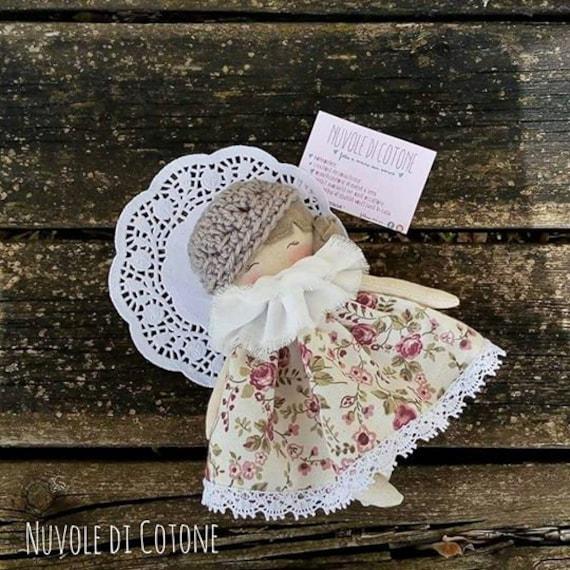 Personalizzato Flower Girl Damigella Bambola di pezza Amore Cuore Regalo Di Nozze Vestito