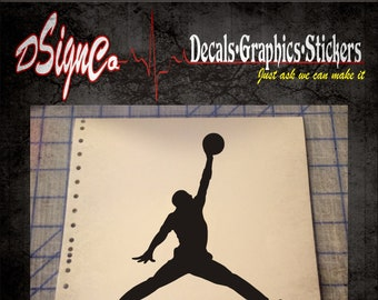 Air Jordan Vinyl Decal Sticker