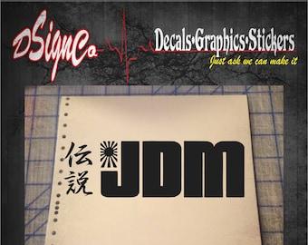 JDM Life Vinyl Decal Sticker