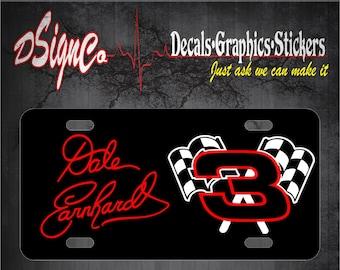 Dale Earnhardt License Plate