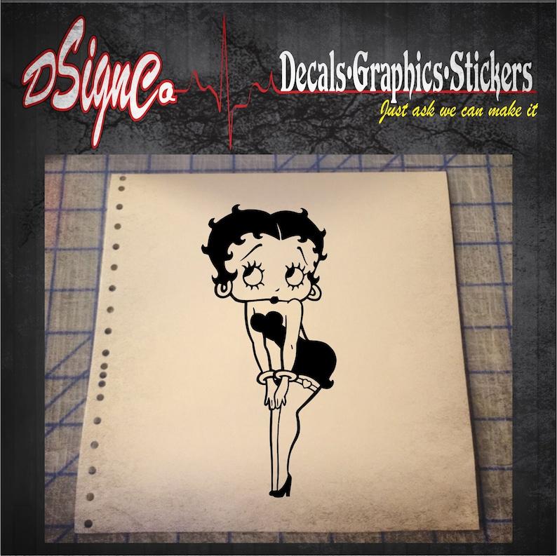 Betty Boop Vinyl Decal Sticker image 0