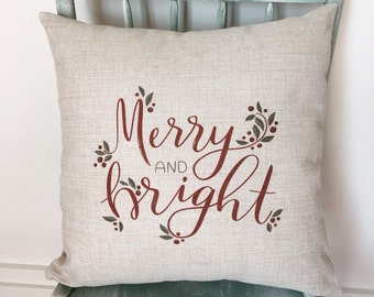 Christmas Pillows Etsy