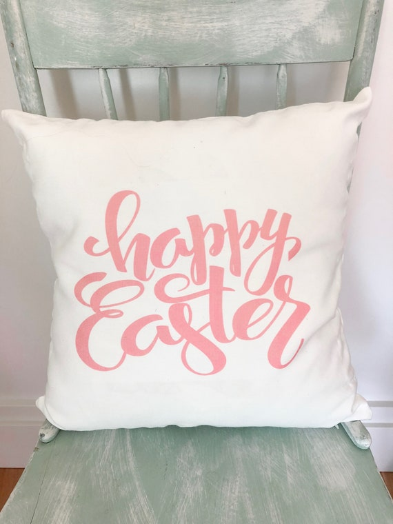 Happy Easter Pillow Cover Decor Easter