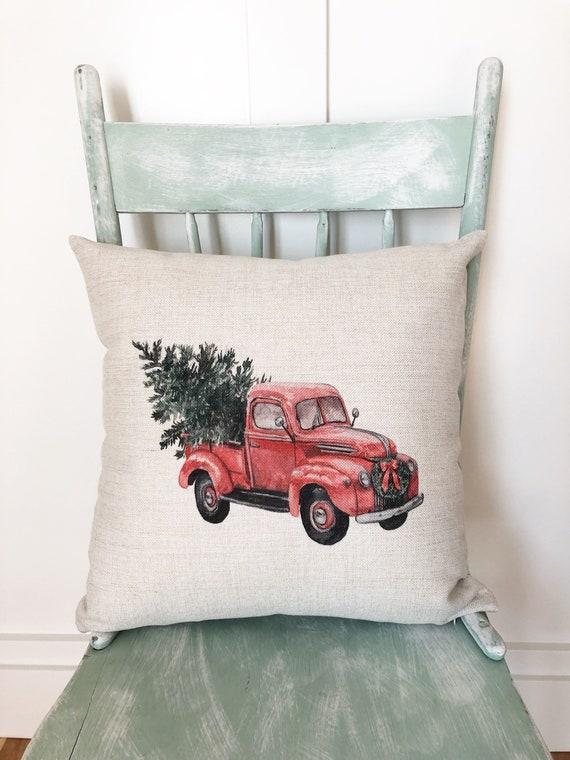 Decor Throw Pillow Covers Retro Car