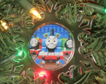 Thomas The Train Ornament Etsy