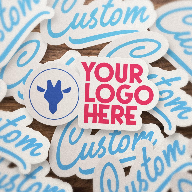 Your custom vinyl sticker your logo vinyl decal personalized die cut vinyl sticker bulk vinyl stickers customized decal