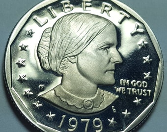 SUSAN B ANTHONY Bright Uncirculated 1981 S