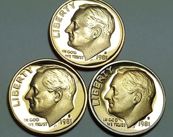 Beautiful Proof Coin 1983-S  Roosevelt Dime Overstock!!!!!